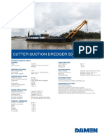 Product Sheet Damen Cutter Suction Dredger 500-08-2017