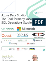 Azure Data Studio - The New Kid in Town