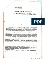 Agnes Heller Democracia Formal e Democracia Socialista