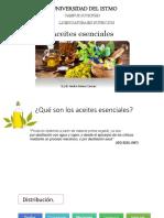 Presentación Aceites Esenciales - Resinas