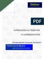 Introduccion a La Telematica Redes de Telefonica