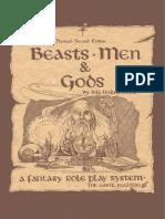 Beasts, Men & Gods! (2nd Ed. Rev.) [The Game Masters 2011 (1980)].pdf