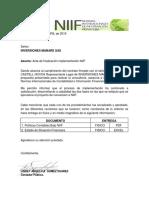 Acta de Entrega Niif 1