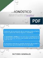 017 - Pronostico