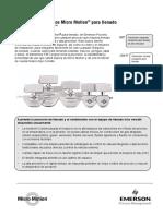 Hoja de Datos Del Transmisor de Masa de Llenado Filling Mass Transmitter Data Sheet Spanish Es 64720