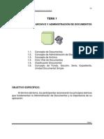 Manual de Archivo y Administración de documentos