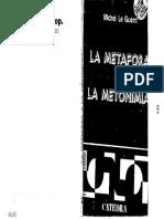 51120 LE GUERN - Metáfora y Metonimia