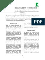 CARGA Y DESCARGAR DE UN CONDENSADOR