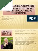 Exposiscion Las Universidades Públicas en El Siglo XXI