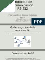 Protocolo de Comunicación RS-232