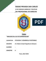 Tema - Analisis de La Ley de Expropiacion