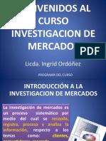 1 - Introducci n a La Investigacion de Mercados