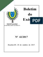 Boletim 42/2017