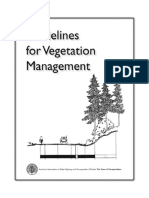 Preview Guidelines For Vegetation Management AASHTO