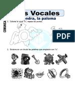 3Ficha de Las Vocales