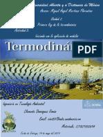 Problemas de la Primera Ley de Termodinamica