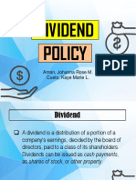 Report No. 10 - Dividend Policy.pptx