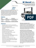 XPR 10S Two Post Lift 5175395 BendPak