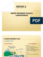 MATERI 2 water treatment plant and laboratorium
