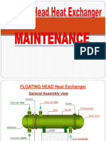 Floating Head Heat Exchanger Maintenance