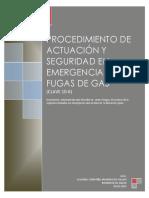Procedimientode Actuacion y Seguridad de Emergecias Con Fugas de Gas 10-6 Angol