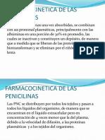 Farmacocinetica de Las Penicilinas