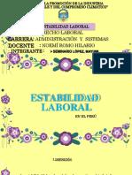 ESTABILIDAD LABORAL EN EL PERÚ.docx