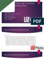 Universidad Piloto de Colombia-Rocas Sedimentarias Quimicas