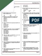 Ecuaciones de Primer Grado Ord