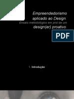 Metodologia de Design