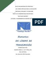 Lineas de transmision electrica