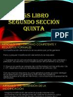 Libro Segundo Seccion Quinta