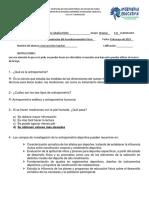 Cuestionario Jose Sixto