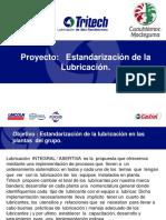 Proyecto Estandarización de la  Lubricación..ppt