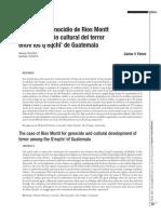 El caso por genocidio de Ríos Montt y la elaboración cultural del terror.pdf