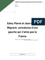 Edwy Plenel Et Jean Pierre Mignard