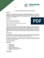 Más Info. Programa Lean Logistics Expert