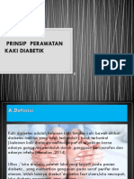 Prinsip Perawatan Kaki Diabetik Ppt