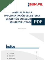 Manual Para la Implementacion del  Sistema de Gestion de Seguridad