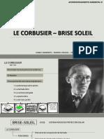 Le Corbusier Brise Soleil