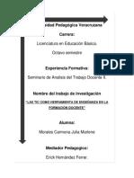 LAS TIC COMO HERRAMIENTA DE ENSEÑANZA EN LA FORMACIÓN DOCENTE.doc
