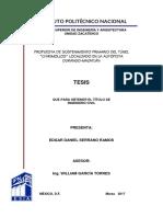 """Propuesta de sostenimiento primario del túnel """"Chirimollos"""" localizado en la autopista Durango-Mazatlán_unlocked.pdf"""