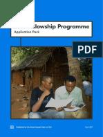 Yoti 2019 Fellowship Programme Application Pack