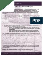 CD Career Change Cover Letter DP OL