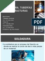 Soldadura, tuberías y estructura - Vanessa Delgado, Eli Diaz, Kelly