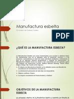 Manufactura esbelta
