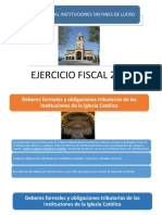 1 Cierre Fiscal Instituciones Sin Fines de Lucro
