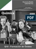 Q10 Formacion de Oxidos