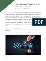 ROR Journal, factors influencing consumer buying behavior.docx