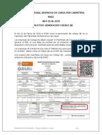 Circular Código QR Ministerio de Trasnporte